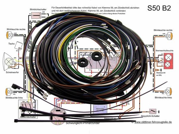 Simso Shop | Kabelbaumset inkl. Schaltplan - S50 B2 | Simson ...