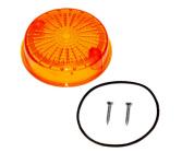 Blinkerkappe für Blinker rund - hinten, 8580.23-002/1 - inkl. Gummidichtring + Schrauben