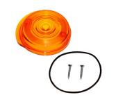Blinkerkappe für Blinker rund - vorne, 8580.23-001/1 - inkl. Gummidichtring + Schrauben