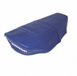 Sitzbezug, blau, glatt - S51