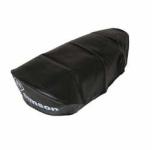 Sitzbezug SIMSON - schwarz, glatt - KR kurz