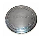 Tankdeckel - Alu poliert - Ø 40mm - Prägung: 1:50 MIXTURE