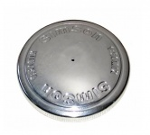 Tankdeckel - Alu poliert - Ø 40mm - Prägung: 1:50 MIX