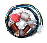 Grundplatte 8305.1/4-100 (6V 35/21W Bilux)