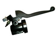 Klemmstück - Gehäuse für Wickelgasdrehgriff, komplett ohne Gasdrehgriff, mit Bremslichtschalter - S51