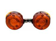 SET Blinker 8580.23, vordere - rund - orange - mit E-Prüfzeichen