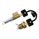 Schlosssatz BAB - ein Schließsystem mit 2 Schlüsseln - Lenkersperrschloß und Feder + Sitzbankschloß/Werkzeugkastenschloß