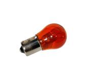 Kugellampe 6V 21W BA15s - orange