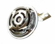 Hupe (Signalhorn) 12V - verchromt - (Befestigung am Gehäusemittelteil)