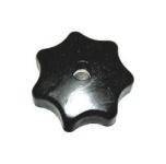 Sterngriffmutter M6 - schwarz - für Motorabdeckung und Tunnel - Original