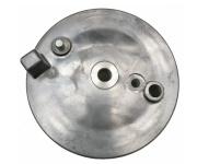 Bremsschild hinten - natur - mit Loch für Bremskontakt - ohne Aufnahme für Bowdenzug