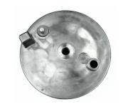 Bremsschild hinten - natur - ohne Loch für Bremskontakt - ohne Aufnahme für Bowdenzug