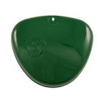 Deckel zum Ansaugkasten (Seitendeckel) Billardgrün - mit Wirbellogo