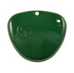 Deckel zum Werkzeugkasten (Seitendeckel) - Billardgrün - mit Wirbellogo