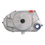 Kupplungsdeckel SIMSON * 4 * (DZM-Antrieb) - natur - teilmontiert ( Verschlussschrauben, Wellendichtring, Ölablaßschraube)