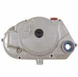 Kupplungsdeckel SIMSON * 4 * (DZM-Antrieb) - natur - vormontiert (DZM-Antrieb, Schraubenritzel, Verschlussschrauben, Wellendichtring)