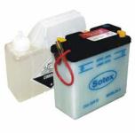 Batterie 6N4B 2A-3 SOTEX inkl. SÄUREPAKET - 6V 4Ah