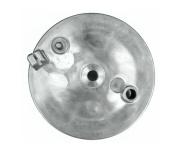 Bremsschild hinten - natur - ohne Loch für Bremskontakt - mit Aufnahme für Bowdenzug