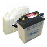 Batterie 6N11A-1B SOTEX inkl. SÄUREPAKET - 6V 11Ah