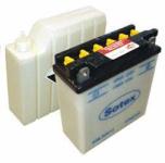 Batterie 12N5,5-3B SOTEX inkl. SÄUREPAKET - 12V 5,5Ah