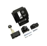 Gehäusehälfte hinten - Schalterkombination - mit Abblend- u. Blinkschalter, Doppeltaster - inkl. Schrauben