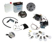 S50, S51, S70 Umrüstsatz Vape auf 12V mit Batterie ( inkl. Säurepack), Hupe und Kugellampen
