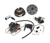 S50, S51, S70 Umrüstsatz Vape auf 12V - ohne Batterie, Hupe und Kugellampen - Magnete verklebt und vergossen
