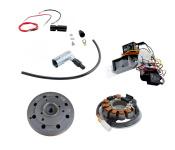 KR51 Umrüstsatz VAPE auf 12V, (ohne Batterie, Hupe und Kugellampen) - Magnete vergossen