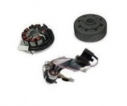KR51/2 Umrüstsatz AKA Electric auf 12V - ohne Batterie, Hupe und Kugellampen - Magnete vergossen