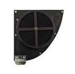 FILU Tuningluftfilter mit Bulpren Doppel-Filtermatten, schwarz