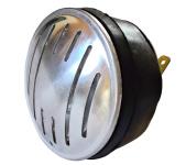 Hupe (Signalhorn) für Gleichstrom 6V und 12V - ALUBLENDE