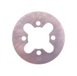 Kupplungslamelle, Kupplungsscheibe, Stahl 1,5 mm
