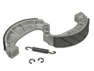 Set Bremsbacken Sport mit auswechselbaren Zwischenlagen - geschlitzter Belag - inkl. Feder und Sicherungsclips
