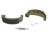 Set Bremsbacken mit auswechselbaren Zwischenlagen - inkl. Feder und Sicherungsclips