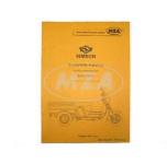 Ersatzteilkatalog Lastendreirad SD50 CT/CTE Ausgabe 1993/2003