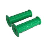 Griffgummi SET - Waffelmuster - Festgriff- und Gasdrehgriffgummi - grün