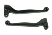 Handhebel SET SIMSON, ALU-massiv, Bremshebel + Kupplungshebel (auch für Ausführung mit Bremslichtschalter) , Farbe schwarz