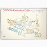 Explosionsdarstellung (72x50cm) S50 Motor M53/2KF