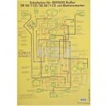 Schaltplan (40x57cm) SR50/1CE, SR80/1CE mit Elektrostarter