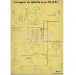 Schaltplan (40x57cm) SR50B3