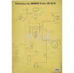 Schaltplan (40x57cm) SR50 N
