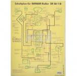 Schaltplan (40x57cm) SR50/1B