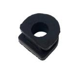 Gummistopfen mit Loch für Verschluß von Kabeldurchführung am Limadeckel (Simson Motor M500 - M700)