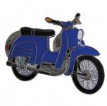 PIN SIMSON SCHWALBE KR51/2 blau