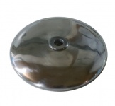 Deckel für Vorderradnabe - Alu - poliert