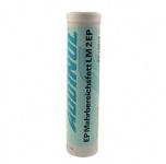 ADDINOL LM2 Fett Patrone (Kartusche), Mehrbereichsfett bis 130 Grad, Mineralölbasis, 400g Kartusche