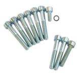 Schraubensatz für Kupplungs- und Limadeckel, (11-teilig, Edelstahl) - Innensechskant