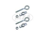 Set Kettenspanner / Kettenspannschraube vollständig (1 Paar) für 10er- Achse, verzinkt
