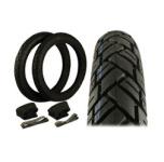 Vee Rubber Reifen SET 2 Stück - Reifen 2 3/4x16 (VRM094) 43 J + Schläuche + Felgenbänder