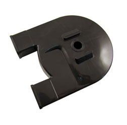 Kettenkasten / Kettenschutz schwarz glänzend, PVC - SR50